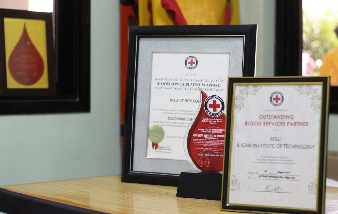 MSU-IIT as a leading Blood Service Partner of the Philippine Red Cross-Iligan